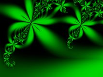 Decorative leaves Stock Photography