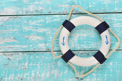 Decorative lifebuoy Stock Photo
