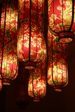 Decorative light. There are many lights like that in a restraunt ,beijing,china Royalty Free Stock Photo