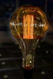 Decorative light bulbs Royalty Free Stock Photos