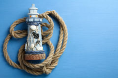 Decorative lighthouse Stock Photos
