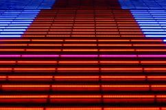 Decorative lighting stairs Stock Image