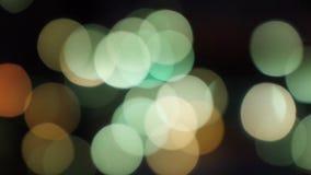 Decorative lights glow Royalty Free Stock Photos