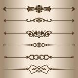 Decorative lines. Stock Image
