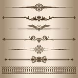 Decorative lines. Stock Images