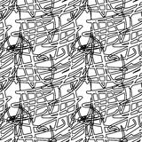 Decorative lines seamless Royalty Free Stock Image