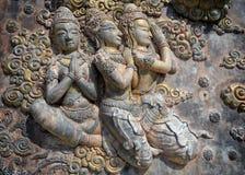 Decorative lintel , Thailand Royalty Free Stock Photography