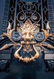 Decorative lion door handle Stock Photography