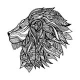 Decorative Lion Head Stock Photos