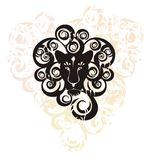 Decorative lion head Royalty Free Stock Photography