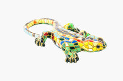 Decorative lizard made with ceramic Royalty Free Stock Photo