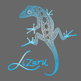 Decorative lizard Royalty Free Stock Image