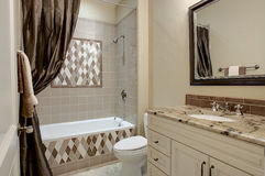 Decorative Luxury Bathroom Royalty Free Stock Photography