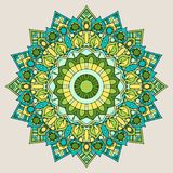Decorative mandala background Stock Image