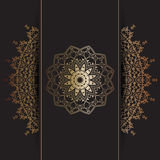 Decorative mandala background royalty free illustration