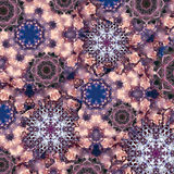 Decorative mandala backkground Stock Photo