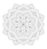 Decorative mandala illustration Stock Photos