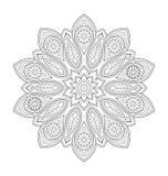 Decorative mandala illustration Stock Photography