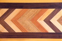 Decorative marquetry on a cutting board Royalty Free Stock Photo