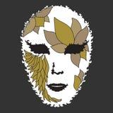 Decorative mask Stock Image