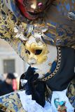 Decorative mask in Venice, Italy, Europe Stock Photo