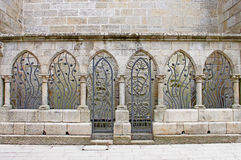Decorative metal Archways Royalty Free Stock Image
