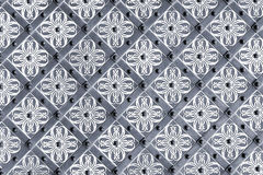 Decorative metal background Stock Image