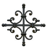 Decorative metal cross Royalty Free Stock Photography