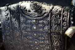 Decorative metal  detail Stock Image