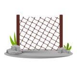 Decorative metal fences. Exterior, design of gates and surrounding area. Stock Image