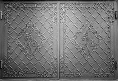 Decorative metal gate Royalty Free Stock Images