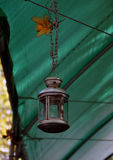 Decorative metal lantern Royalty Free Stock Photography