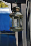 Decorative metal lantern Stock Photography