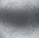 Decorative metal texture Stock Images