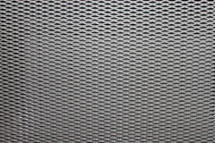 Decorative Metal ventilation grille texture. White beautiful decoration to cover the radiators Royalty Free Stock Image