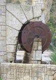 Decorative miniature of watermill in Sochi Stock Photos