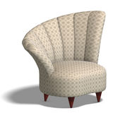 Decorative modern chair Stock Image