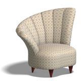 Decorative modern chair Stock Image