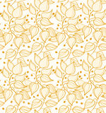 Decorative modern floral background Stock Photos
