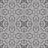 Decorative modern geometric seamless pattern Royalty Free Stock Photos