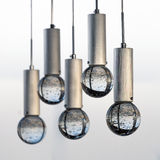 Decorative modern Luxury Chandelier Light Stock Photo