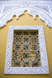 Decorative Moroccan window Stock Photography