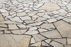 Decorative mosaic pavement Stock Image