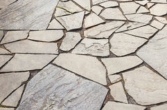 Decorative mosaic pavement Royalty Free Stock Photography