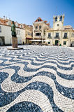 Decorative mosaic plaza Stock Image