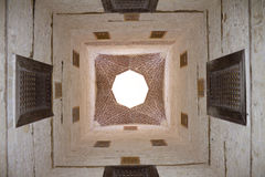 Decorative mosque ceiling Stock Photos