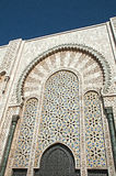 Decorative mossaic surrounding Door of the Mosque Royalty Free Stock Photo