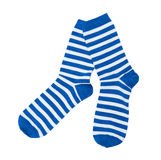 Decorative motif with cute socks Royalty Free Stock Images