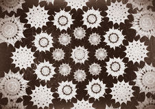 Decorative motif vintage grunge backgrounds Royalty Free Stock Image