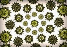 Decorative motif vintage grunge backgrounds Royalty Free Stock Photography